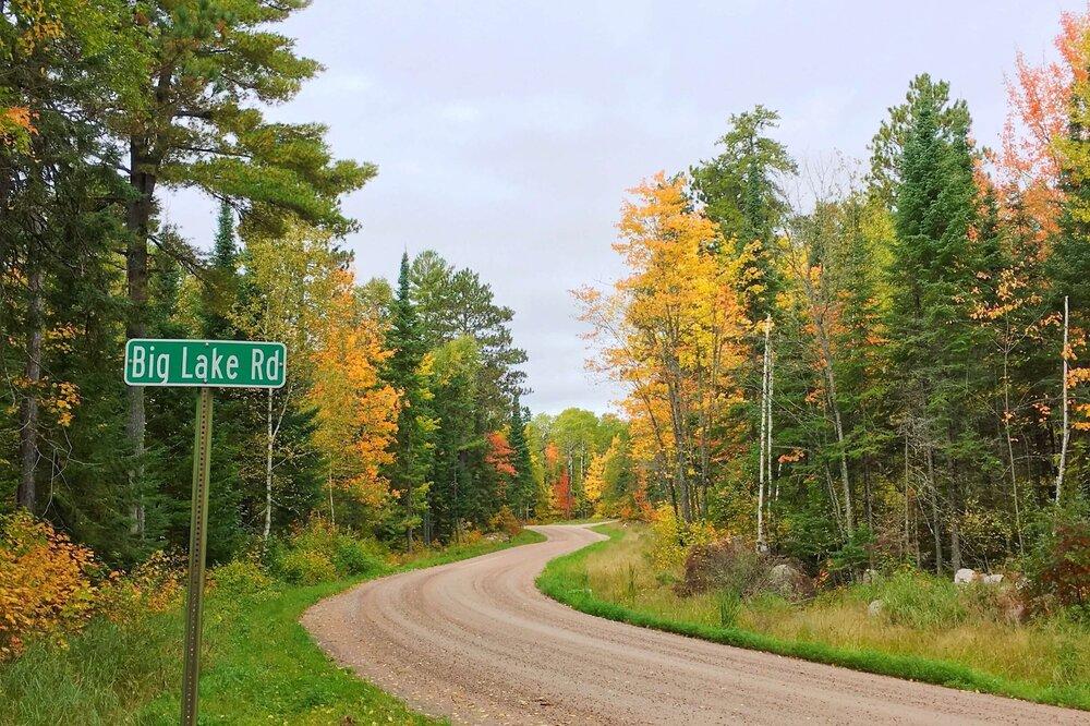 Big Lake Road - gravel road