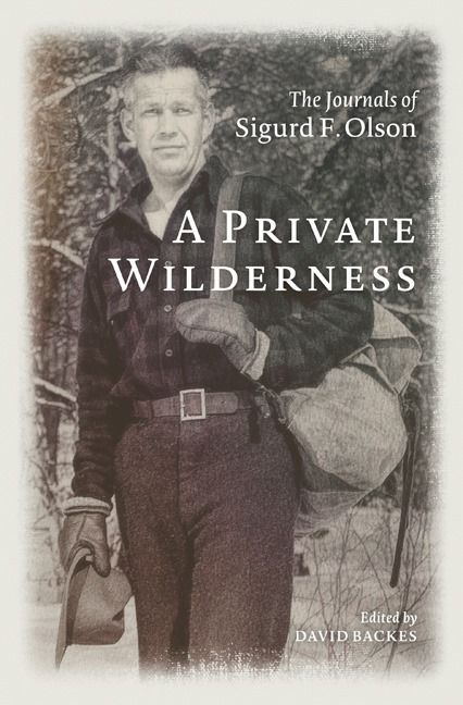 A Private Wilderness by David Backes book cover