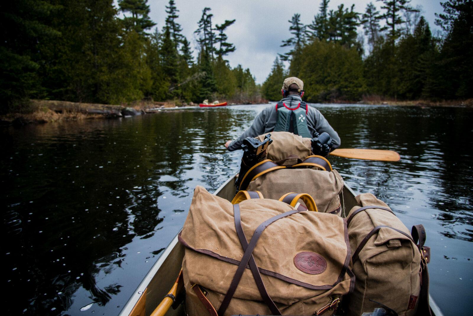 Canoe in the BWCA