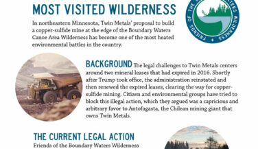 The fight over America's Most Visited Wilderness - fact sheet