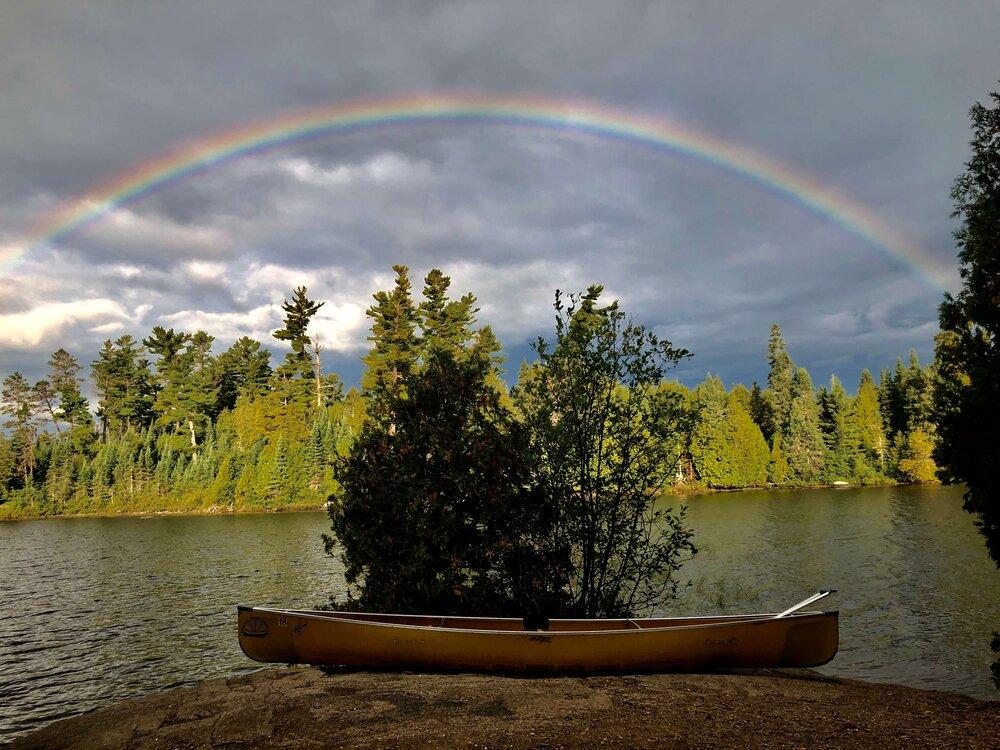 Rainbow in BWCA