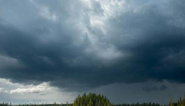 Dark sky over the BWCA